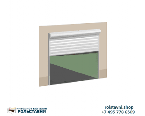 Антивандальные Рольставни на витрины  2500 x 1500