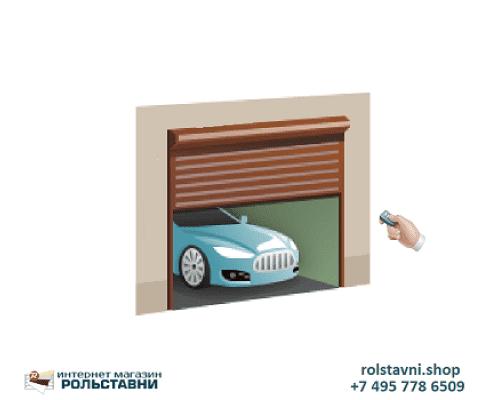 Автоматические ворота рольставни 3100 х 2200