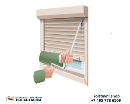 Ставни на окна для дачи деревянные