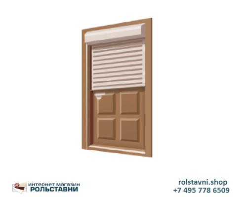 Рольставни на двери защитные  3000 x 2250 ПИМ