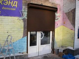 Фото Рольставни на дверь 1