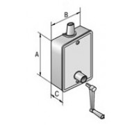 Укладчик для корда рольставни редукторный SBR40