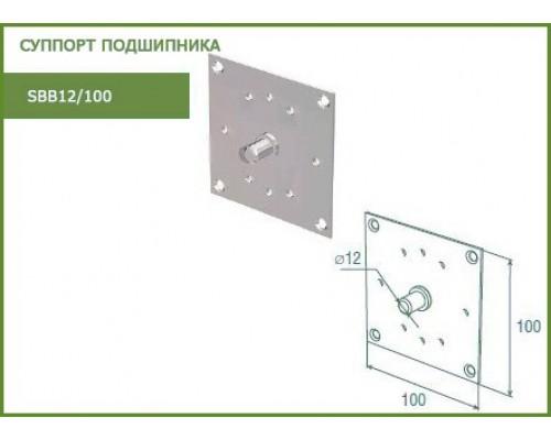 Суппорт подшипника рольставни SBB12/100