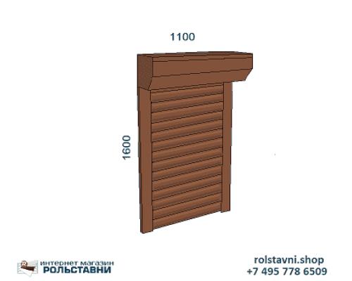 Рольставни на окна 1100 х 1600