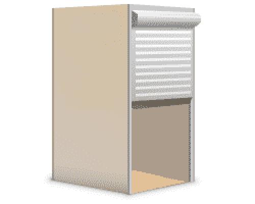 Рольставни для шкафа 850 х 1100