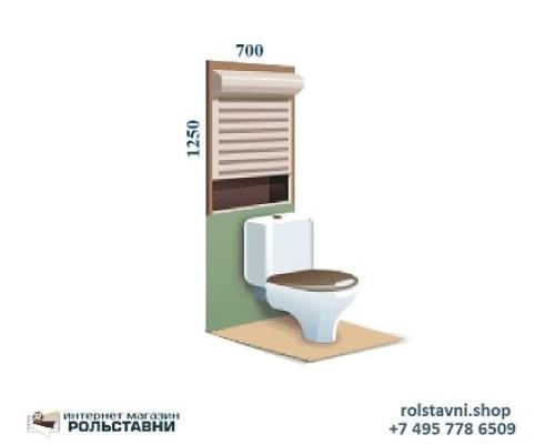 Стоимость рольставни в туалет от фабрики