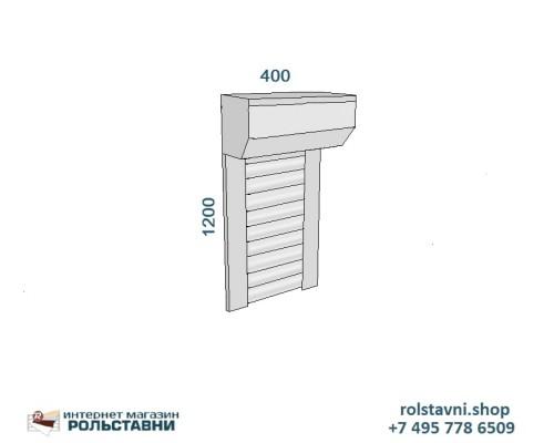Рольставни для сантехнического шкафа