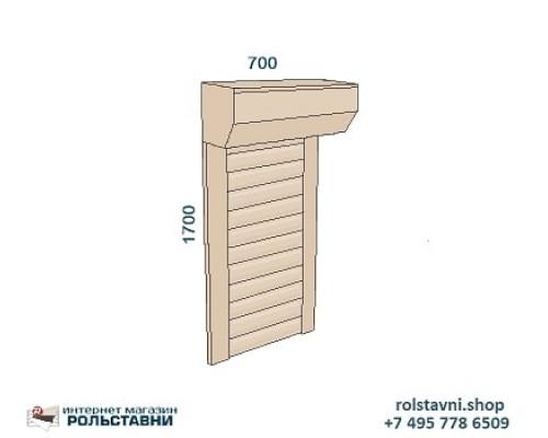 Рольставни сантехнические для шкафа